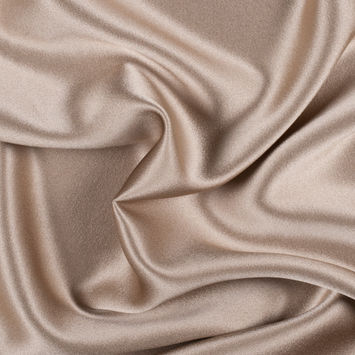 Cornstalk Silk Crepe Back Satin