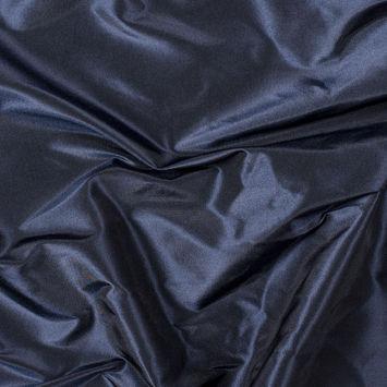 Blue Black Silk Taffeta