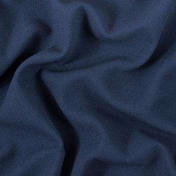 Navy Double Wool Crepe