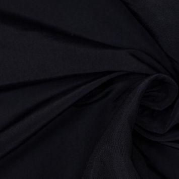 Midnight Solid Silk Faille