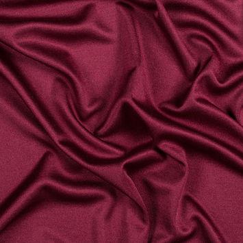 Wine Silk Knit Jersey