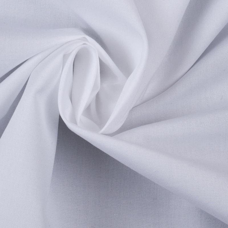American Made White Cotton Shirting - Detail