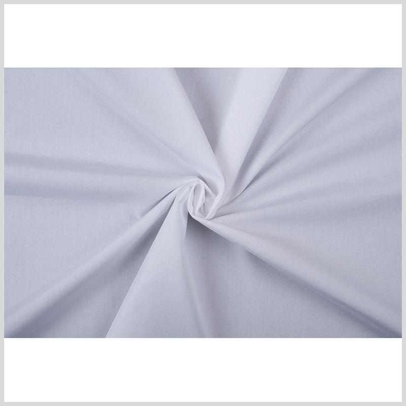 American Made White Cotton Shirting - Full
