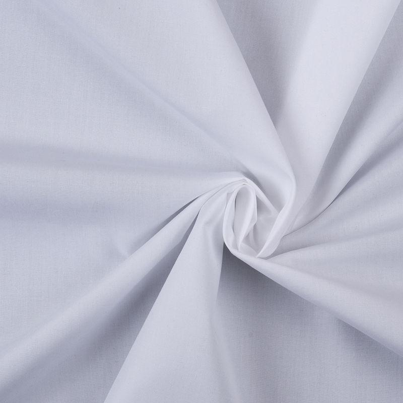 American Made White Cotton Shirting