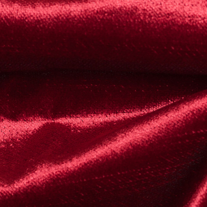 Turkish Cabernet Polyester Velvet - Detail