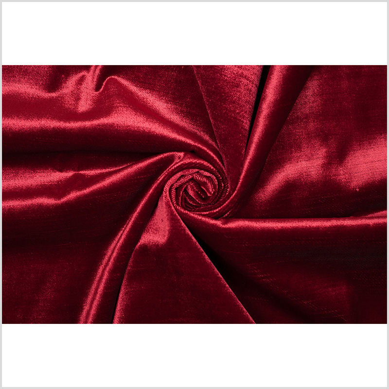Turkish Cabernet Polyester Velvet - Full