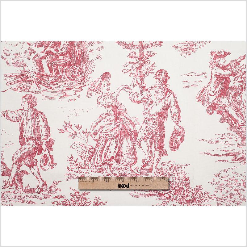 English Rose Cotton Toile - Full