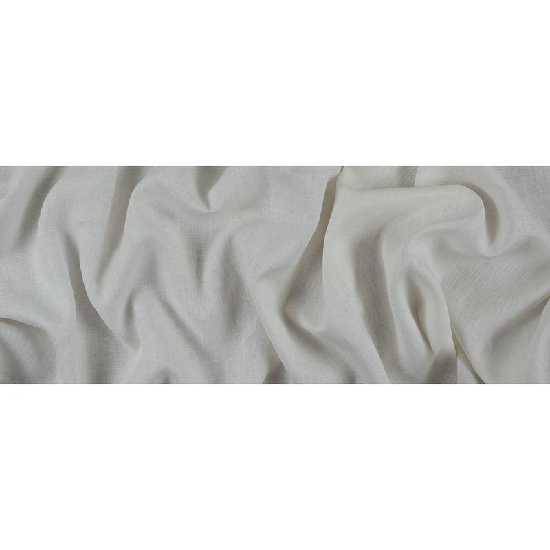 Cream Woven Linen Suiting - Full