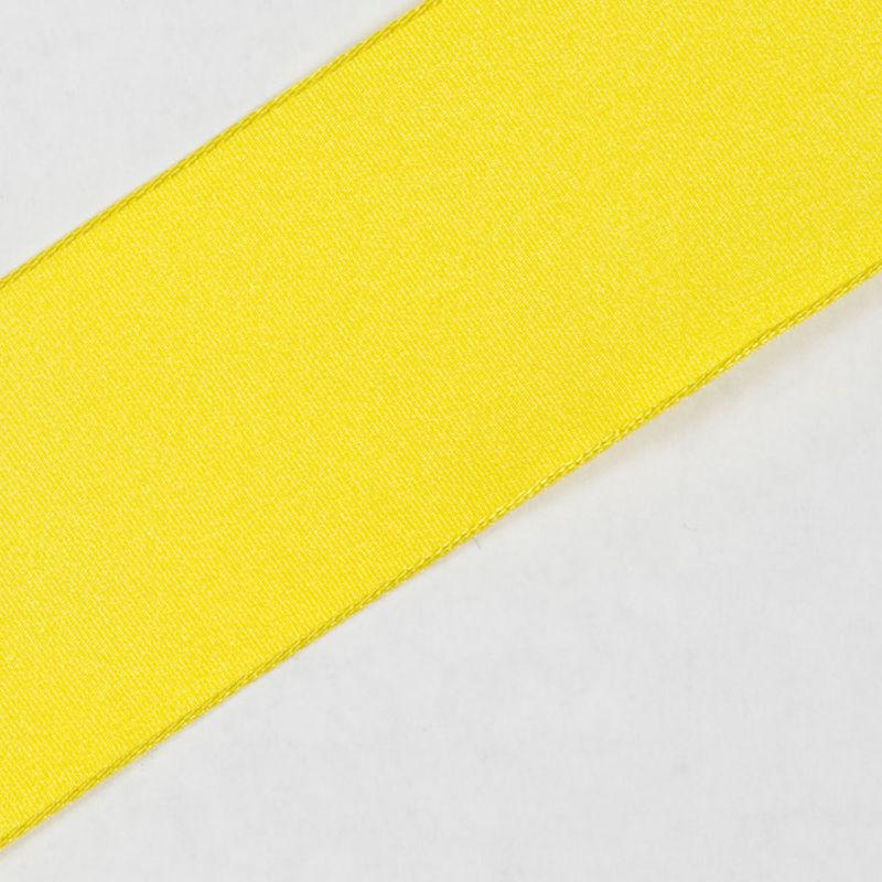 Deep Yellow Wired Edge Ribbon - Detail