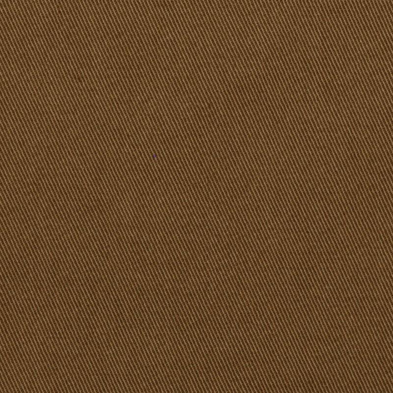 Italian Light Umber Stretch Cotton Twill - Detail