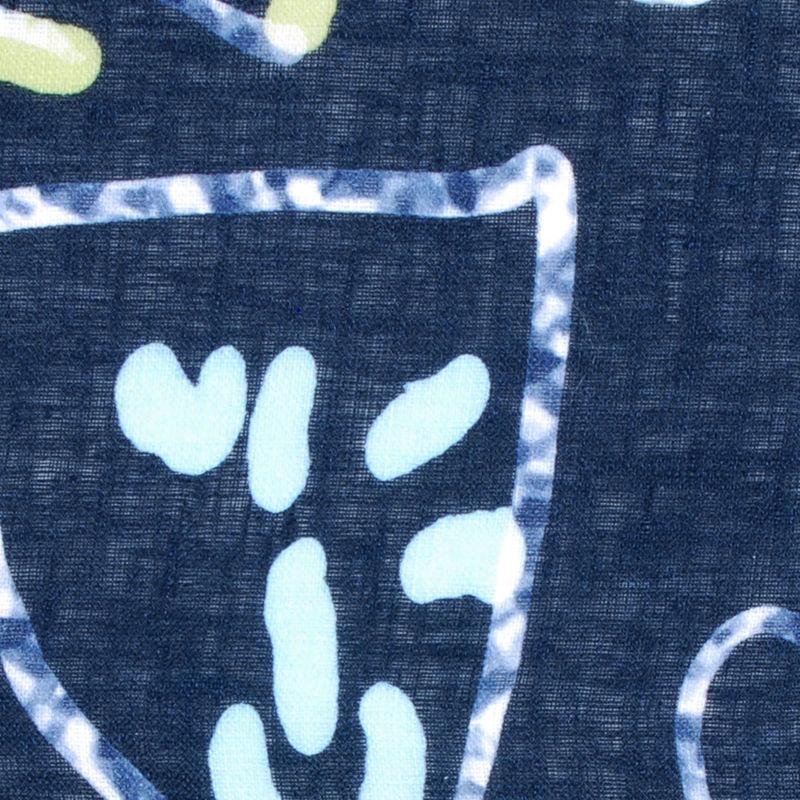 Italian Printed Linen - Detail