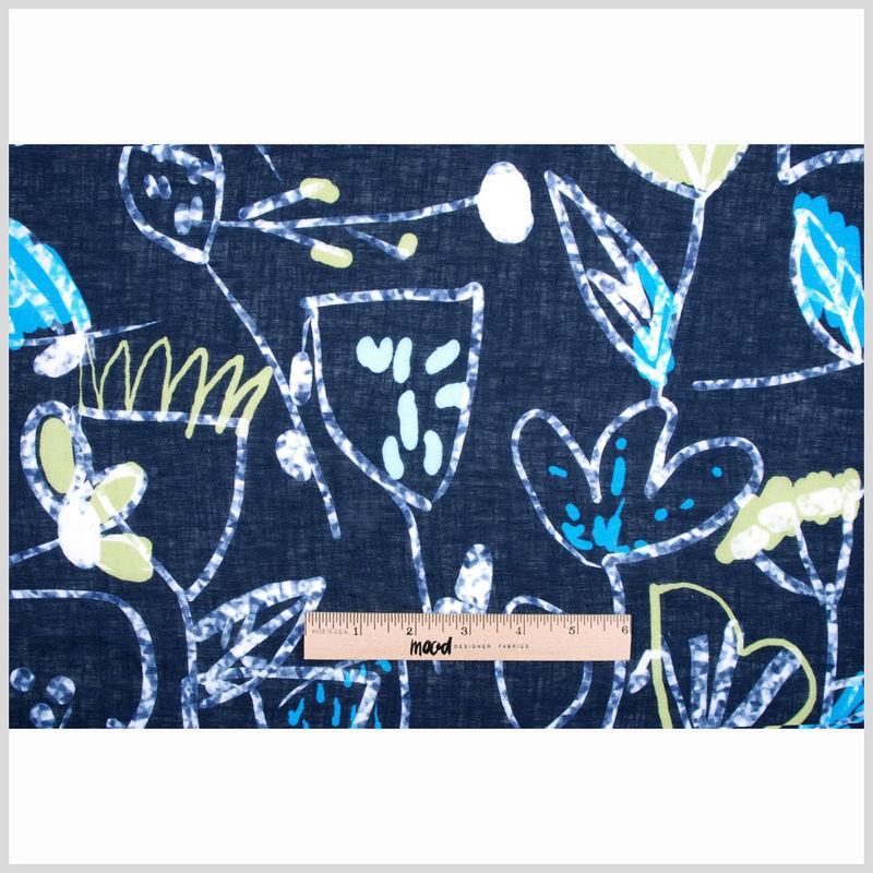 Italian Printed Linen - Full
