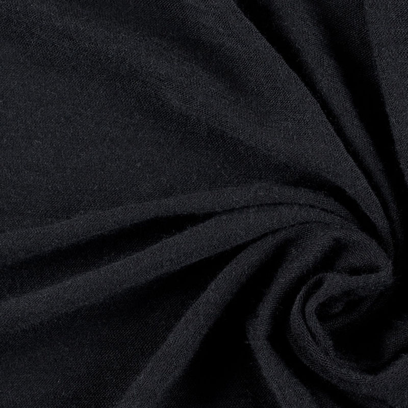 Black Wool Jersey - Detail