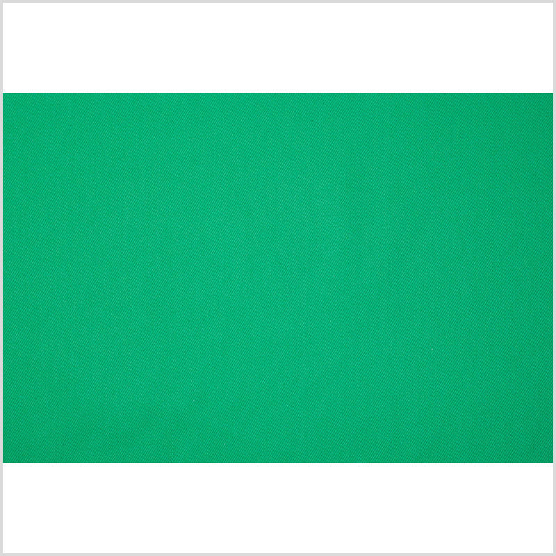 Bright Green Midweight Water-Resistant Cotton Canvas - Full