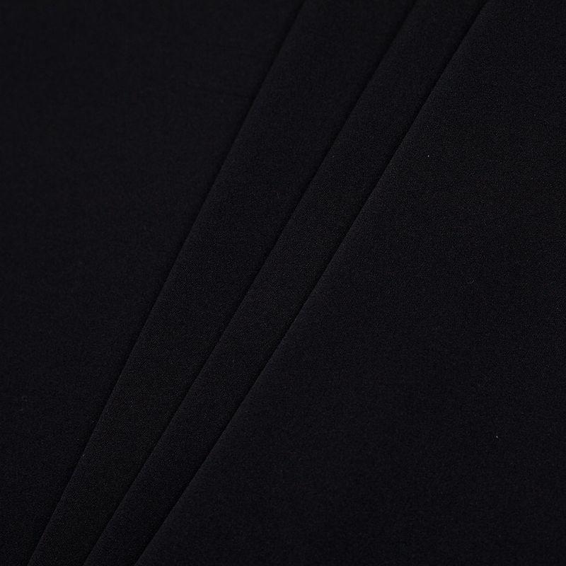 Theory Black Stretch Silk Georgette - Folded