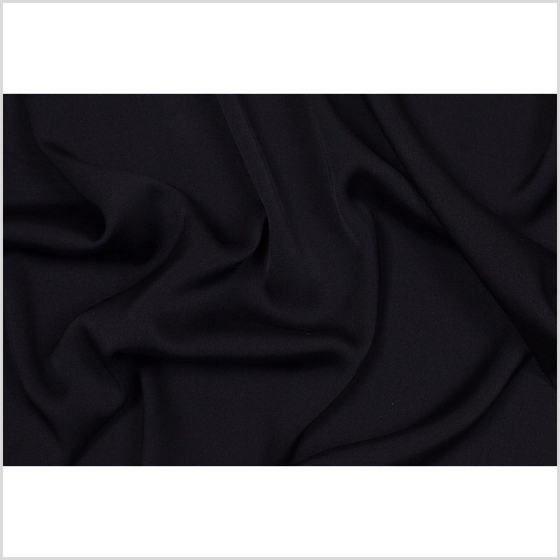 Theory Black Stretch Silk Georgette - Full
