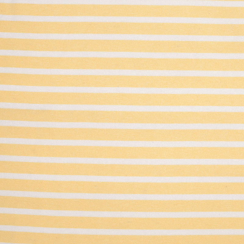 Theory Light Canary Striped Viscose Ponte Blend