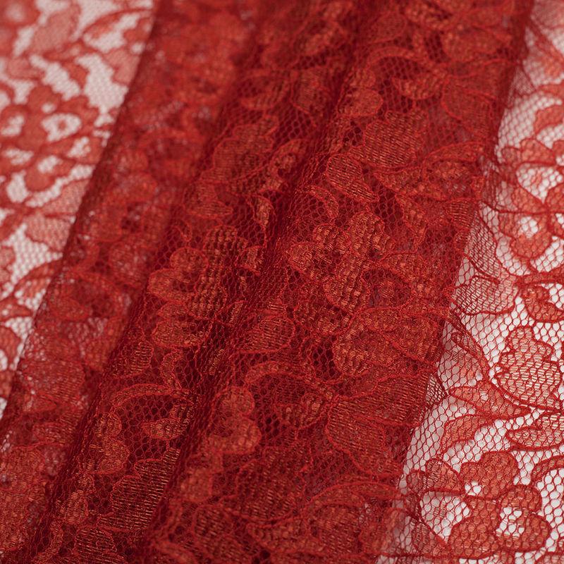 Pumpkin Floral Lace - Folded