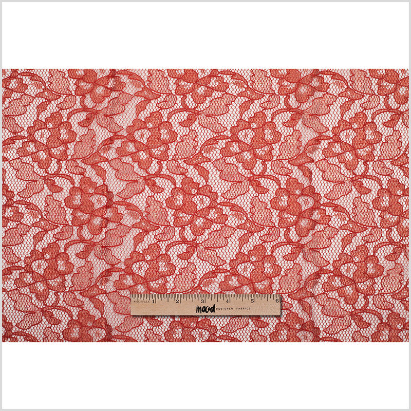 Pumpkin Floral Lace - Full