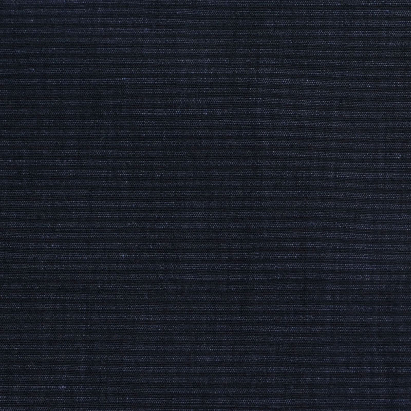 Theory Uniform Navy Striped Stretch Cotton-Linen Blend - Detail