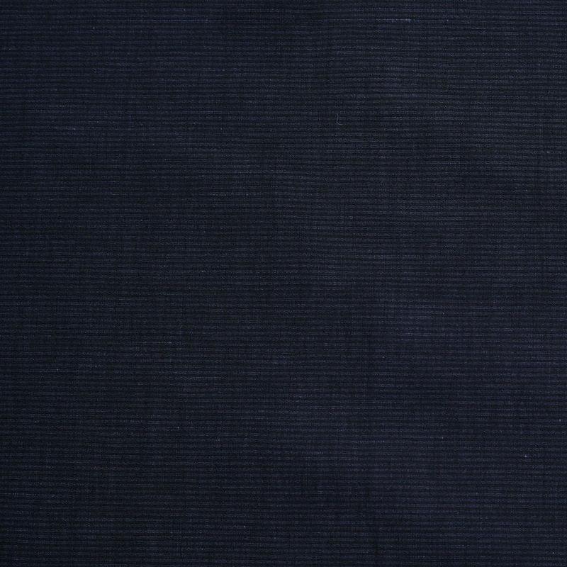 Theory Uniform Navy Striped Stretch Cotton-Linen Blend
