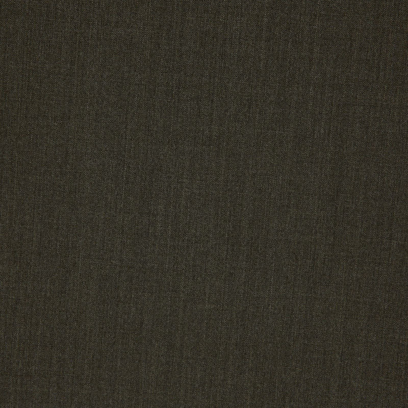Dark Olive Stretch Wool Suiting - Detail