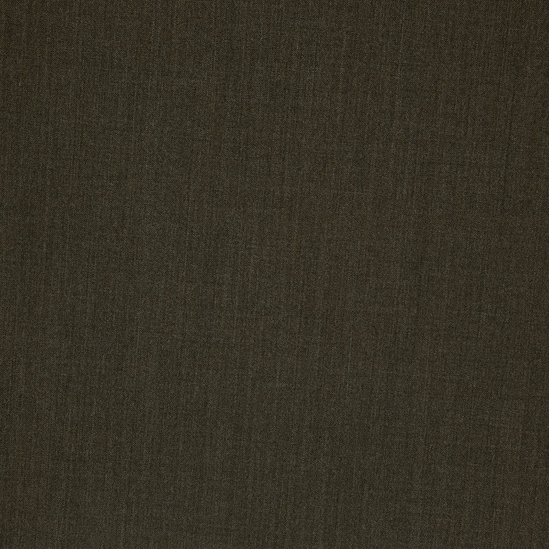 Dark Olive Stretch Wool Suiting