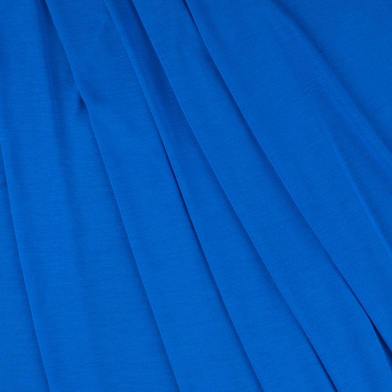 Cobalt Blue Viscose Jersey - Folded