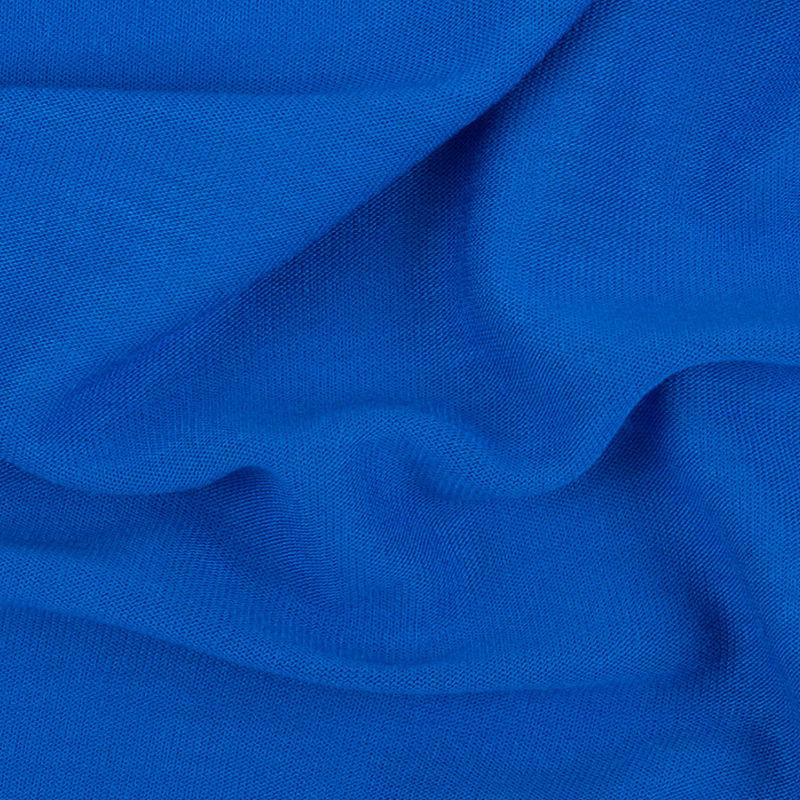 Cobalt Blue Viscose Jersey - Detail