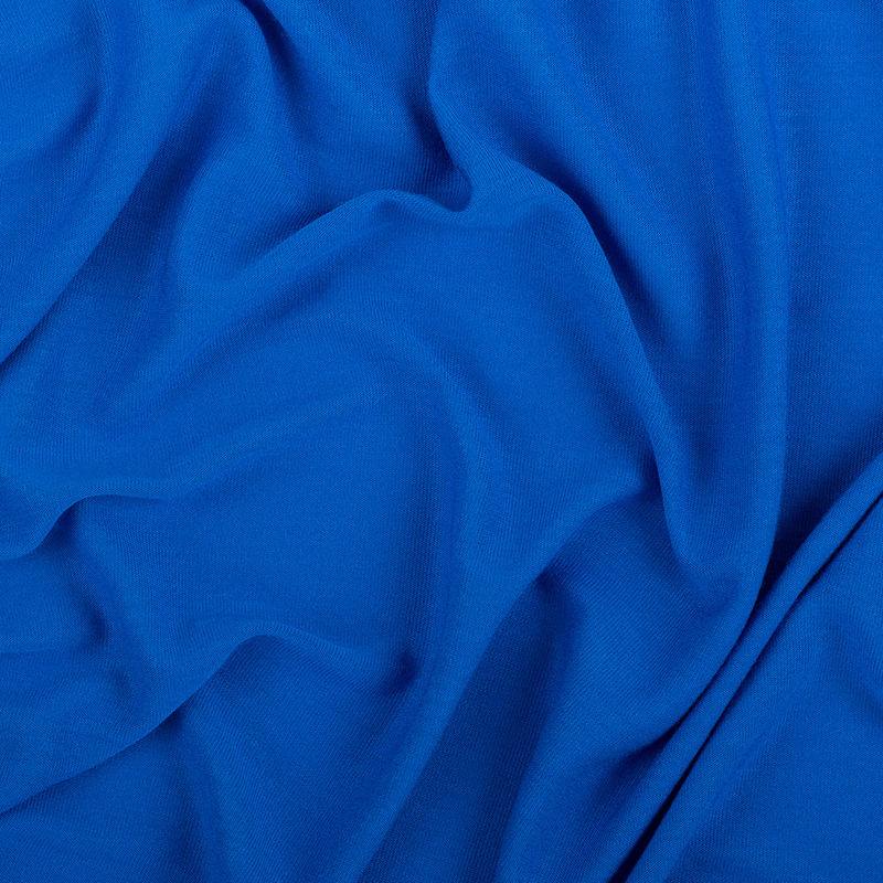 Cobalt Blue Viscose Jersey