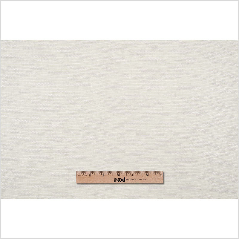 Putty Textural Striated Blended Linen Woven - Full