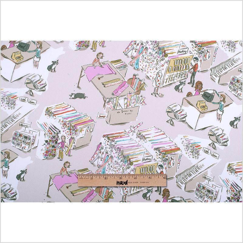 Mood Store Digitally Printed Polyester Chiffon - Full