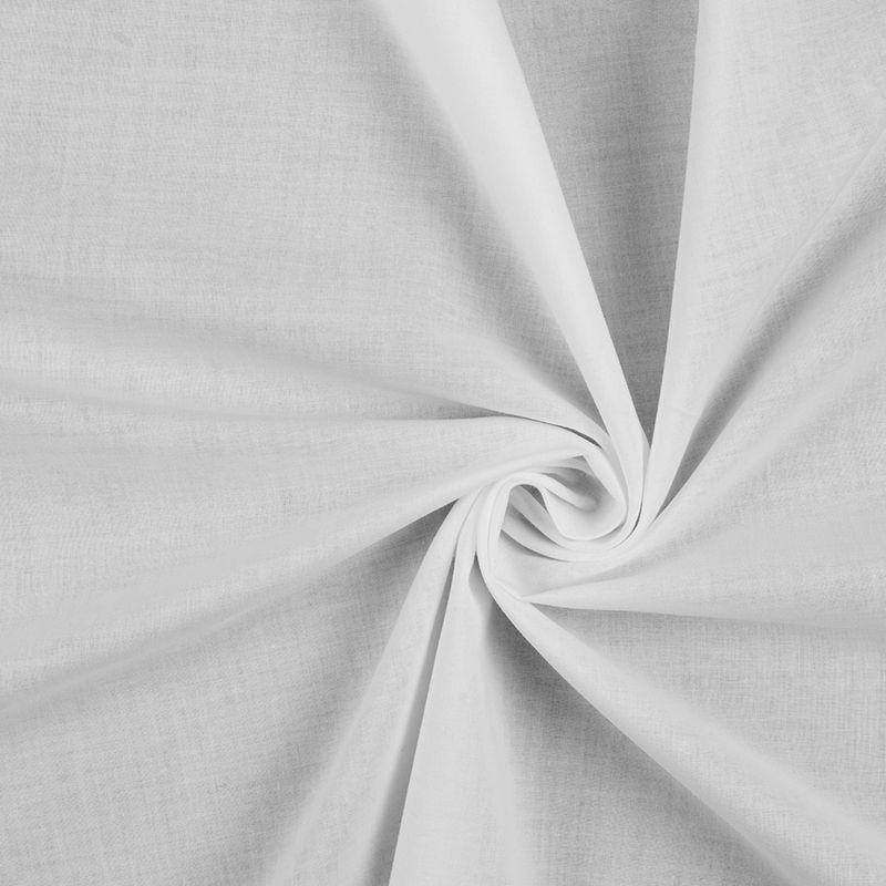 6e6b84dbcb8 White 100% Cotton Voile