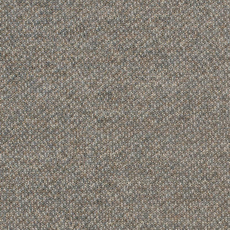 Multi Gray and Metallic Gold Stretch Cotton Terry Knit - Detail