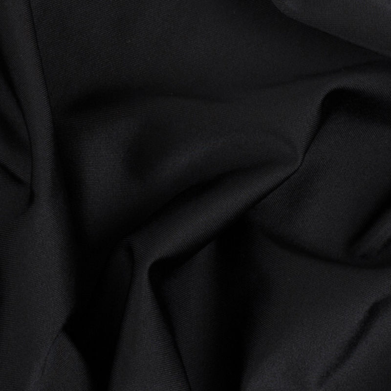 Black Max-Dri Wicking Anti-Microbial Performance Spandex - Detail