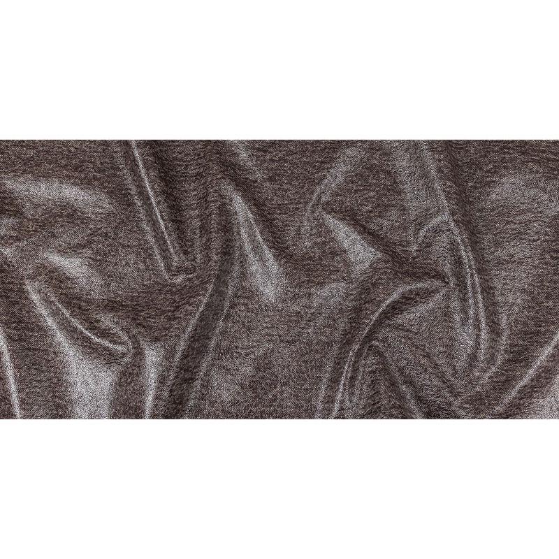 Heathered Fig Laminated Wool Tweed - Full