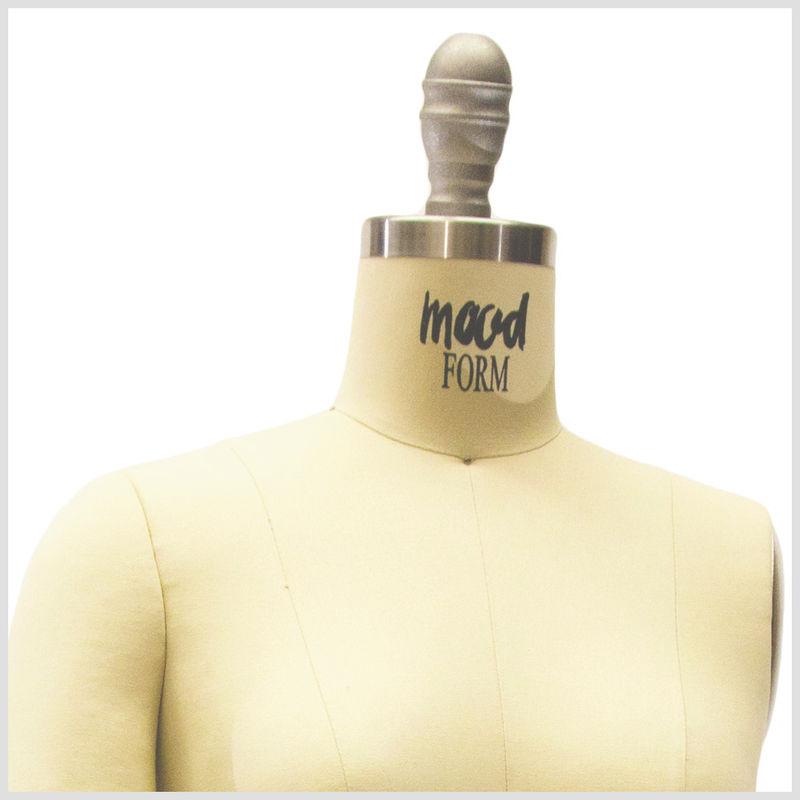 Mood Brand Dressform w/o Legs Size 2-12 - Detail