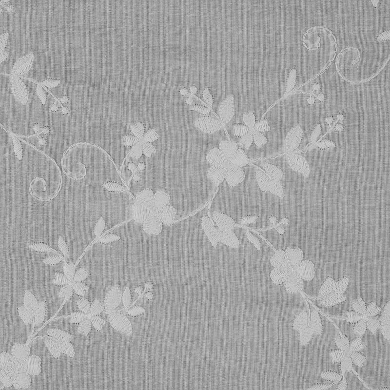 6b9eaa81a More Views. Off-White Floral Embroidered ...