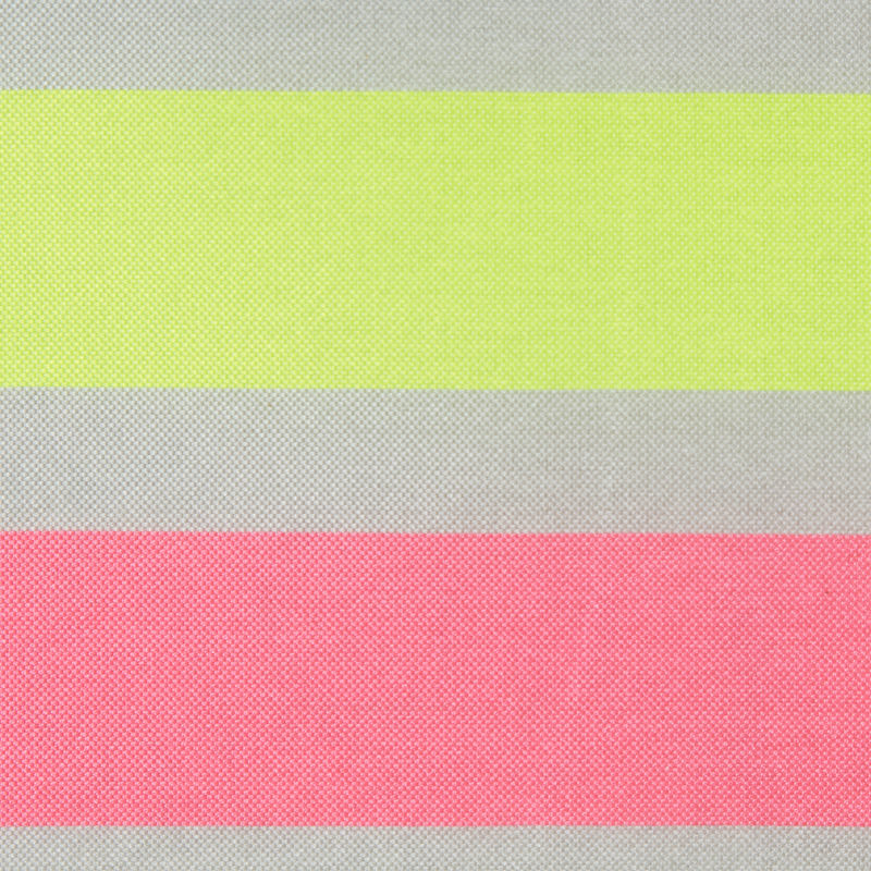 Fluorescent Pink Striped Taffeta - Detail