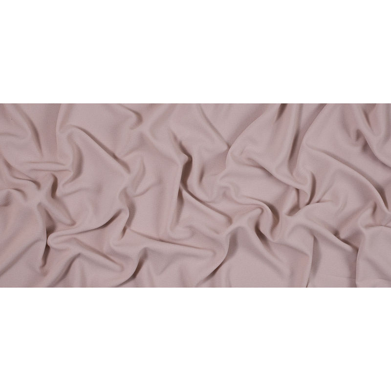 Italian Rose Dust Stretch Polyester Crepe - Full