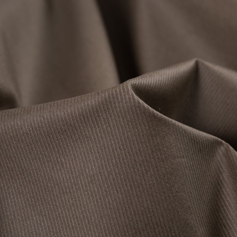 Italian Gothic Olive Waxed Cotton Twill - Detail