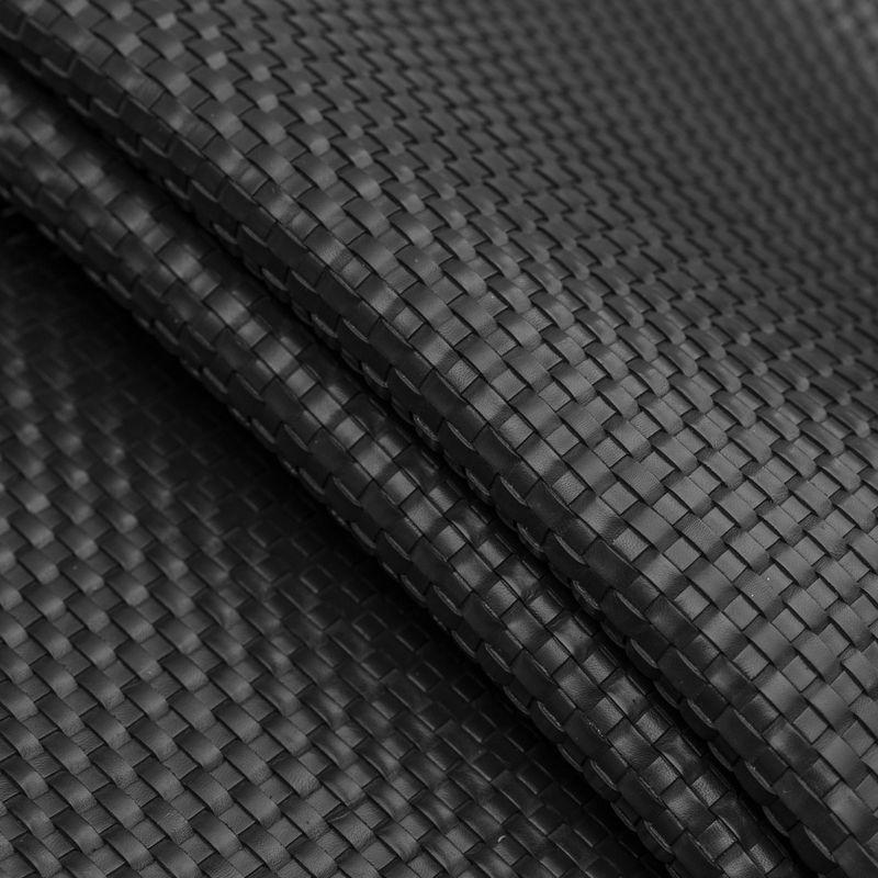 Midnight Bottega Basketwoven Cow Leather - Folded