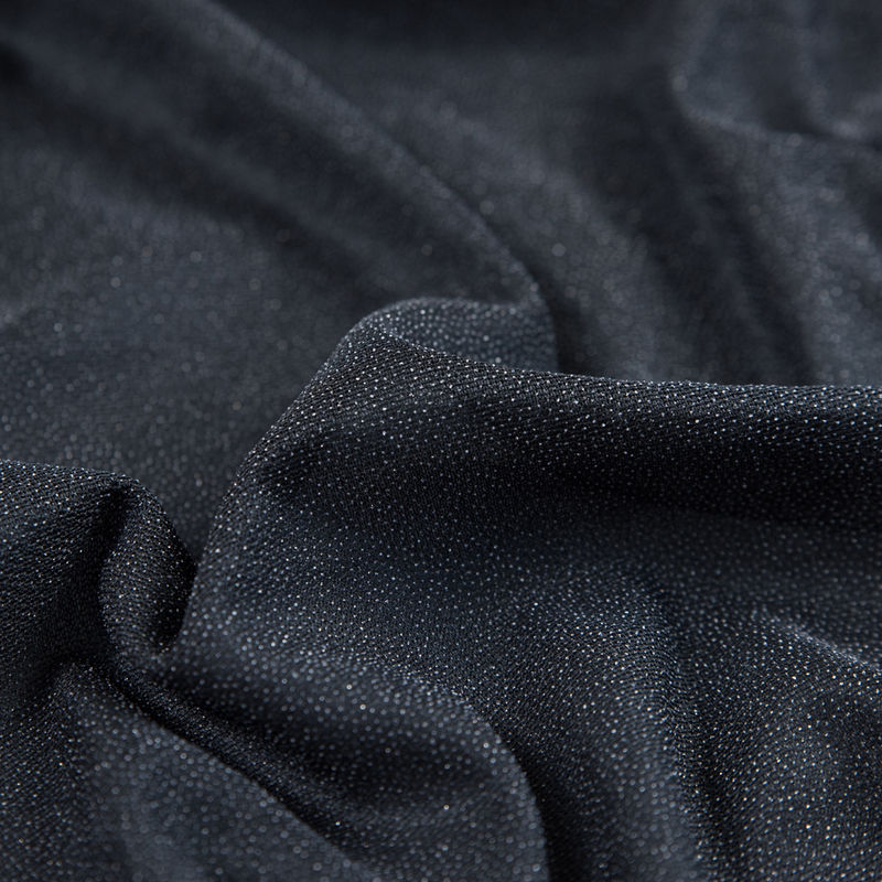 Black Weft Fusible Interfacing - Detail