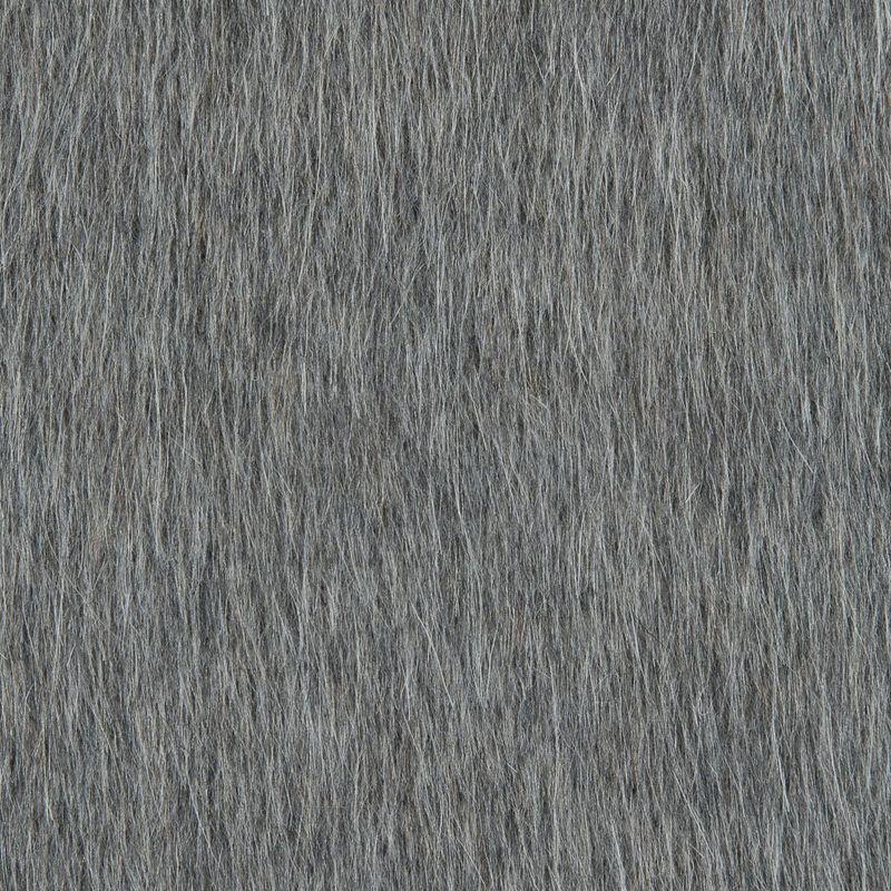 Italian Taupe Mohair Wool Coating - Detail