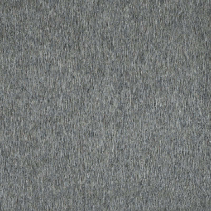 Italian Taupe Mohair Wool Coating
