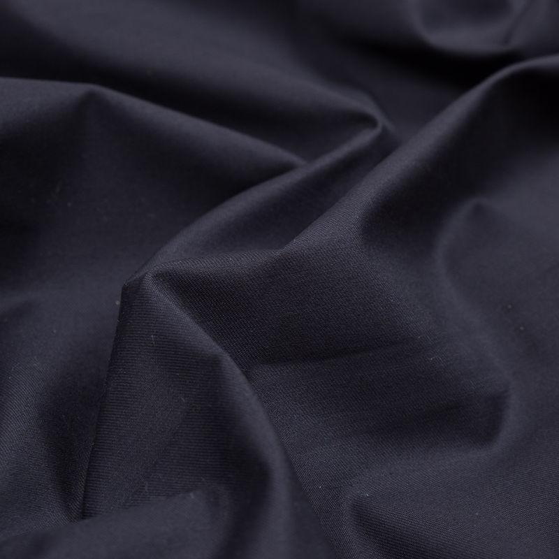 Navy Stretch Cotton Twill - Detail