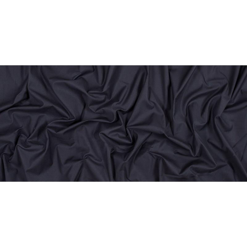 Navy Stretch Cotton Twill - Full