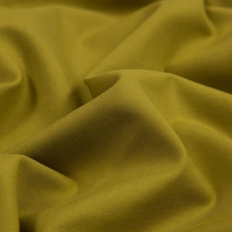 Chartreuse Stretch Ponte Knit - Detail