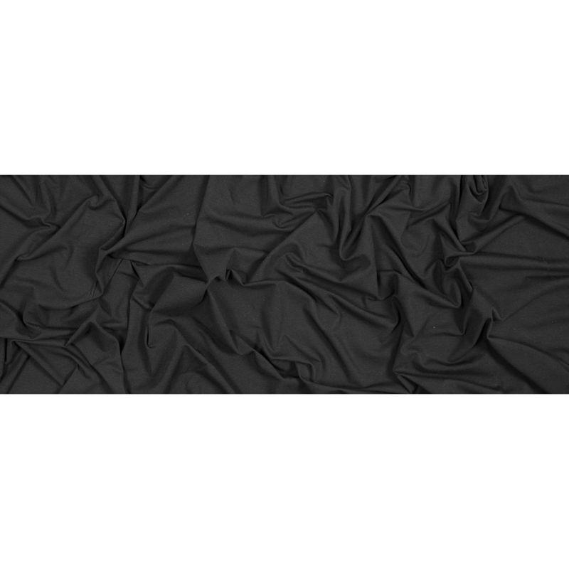 Black Stretch Rayon Jersey - Full