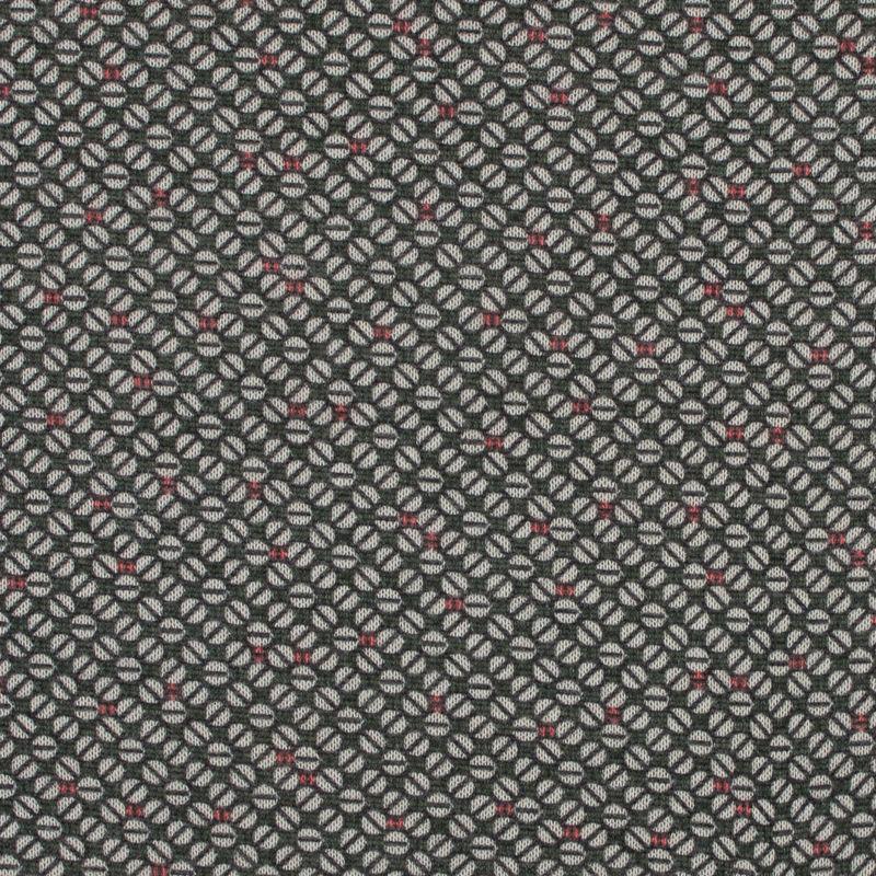 Italian Green and Pink Geometric Sweater Knit